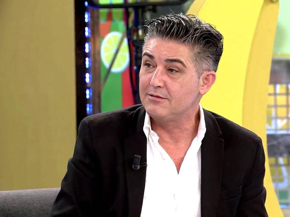 Foto: Ángel Garó, en 'Sálvame'. (Telecinco)