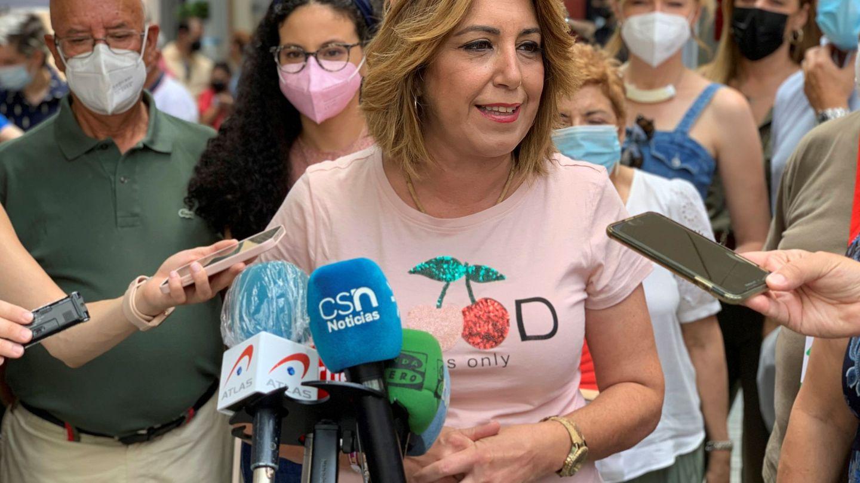 La candidata a las primarias del PSOE-A, Susana Díaz. (EFE)