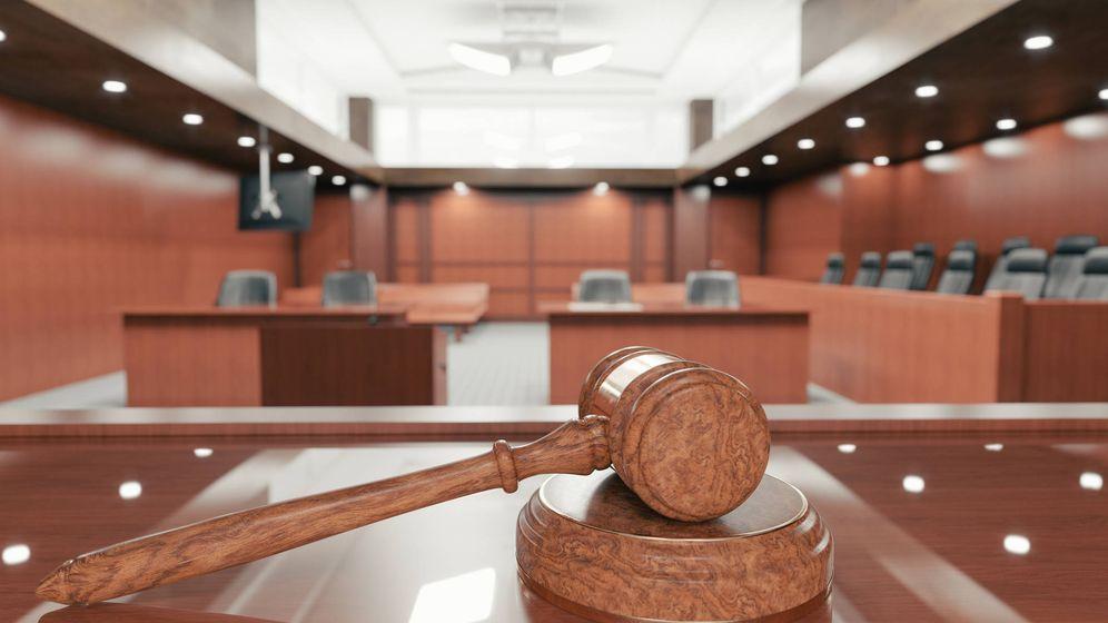 Foto: Un sala de un tribunal en una imagen de archivo. (iStock)