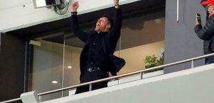 Post de Simeone trae de cabeza al Atlético para la final:
