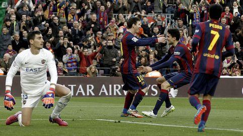 La LFP estudia denunciar al Barça por los cánticos de borracho a CR7