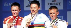 Hushovd gana el oro en un sprint con Freire en sexta posición