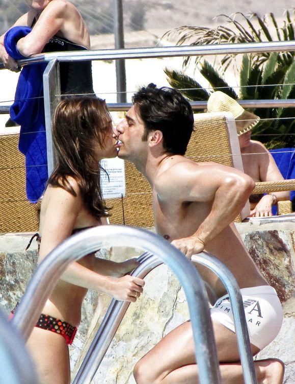 Disfrutando de unas vacaciones en Gran Canaria meses después de su boda