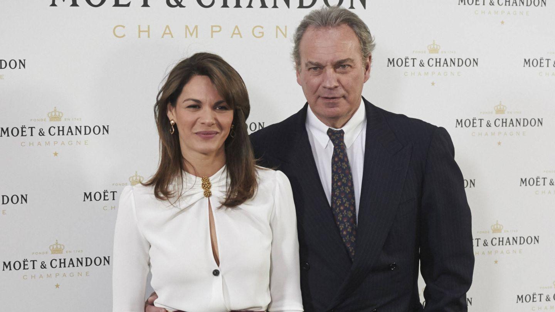 Fabiola y Bertín, en una foto de archivo. (Getty)