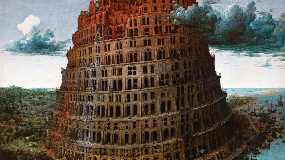 Foto: Torre de Babel de Pieter Brueghel el viejo.