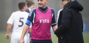 Post de El jeque de Baréin desaparece cuando la FIFA tiene que hablar de Palestina