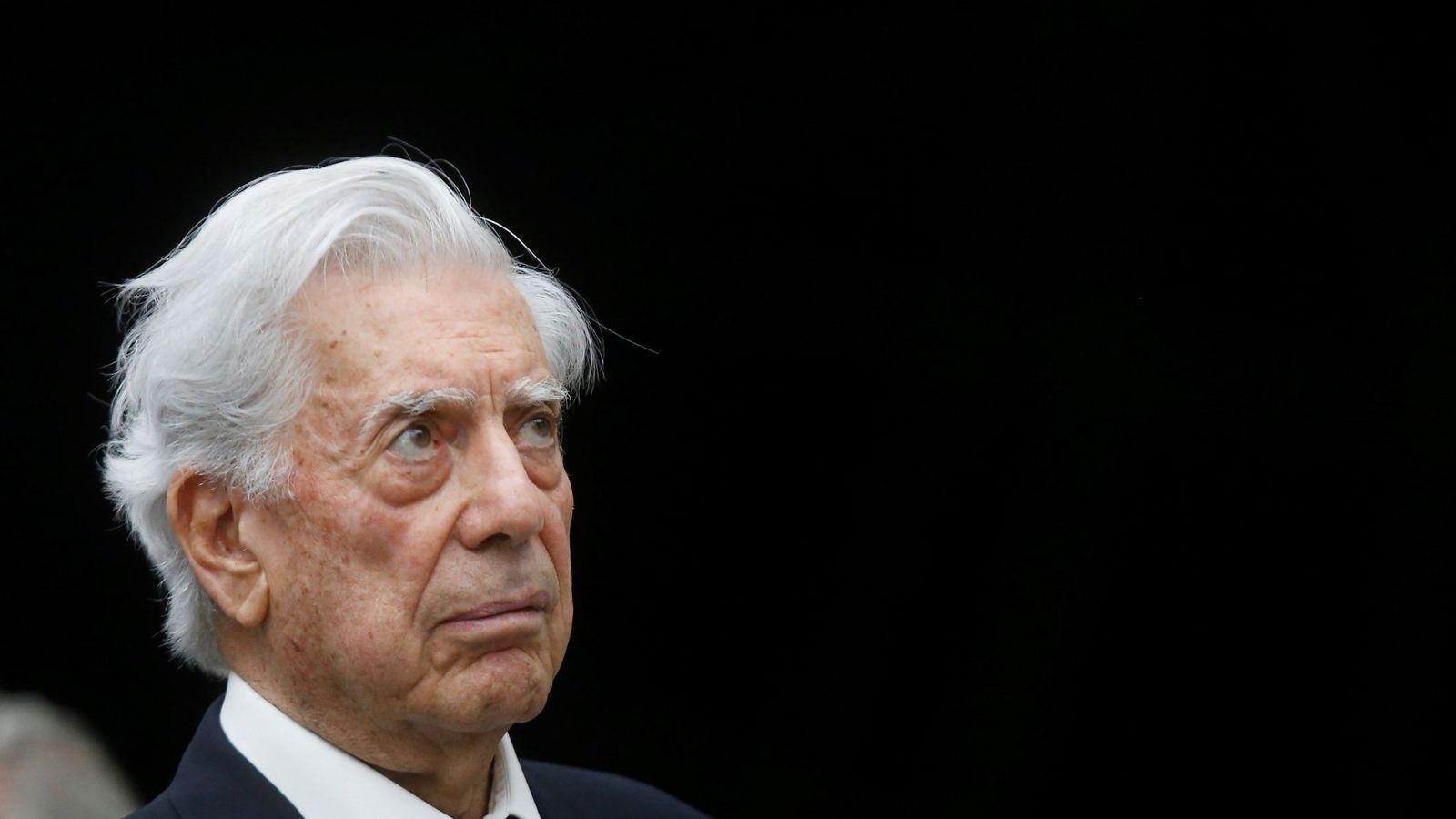 Foto: Mario Vargas Llosa esta semana en México en la Bienal de Novelas Mario Vargas Llosa que ha sido acusada de machismo. (EFE)