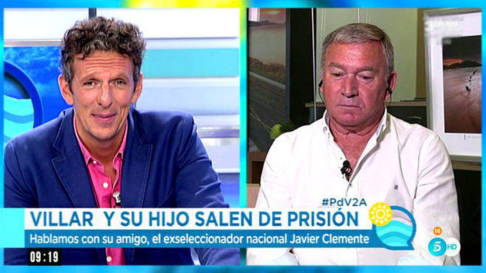 Foto: Joaquín Prat entrevista a Javier Clemente en 'El programa del verano'.