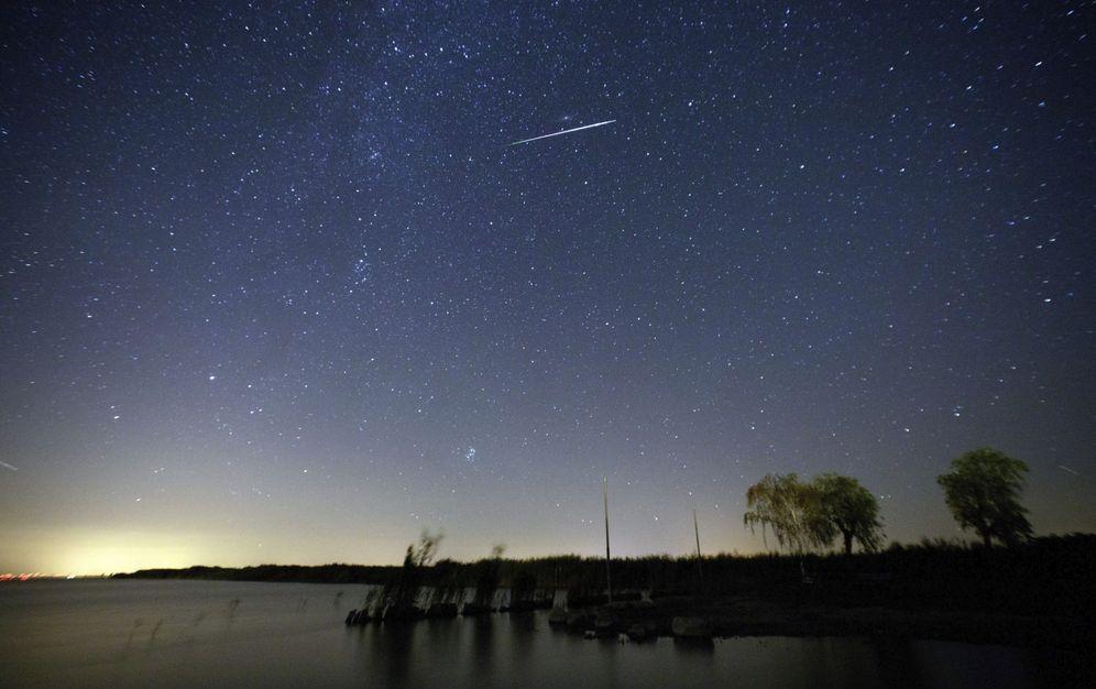 Foto: Lluvia de estrellas (Foto: EFE)