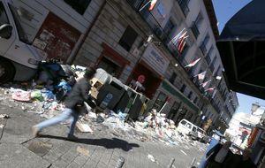 Límite 72 horas: los efectos de la huelga de basura en Madrid se adelantan a Año Nuevo
