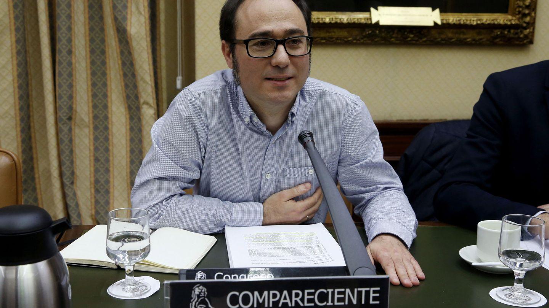 Daniel de Frutos, en una comparecencia en el Congreso. (EFE)