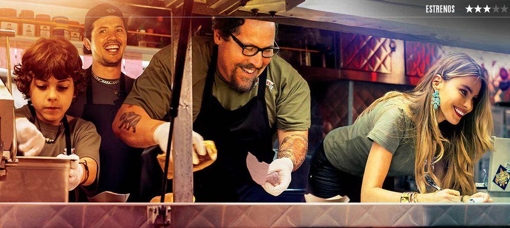 Foto: El innecesario empacho de 'Chef'