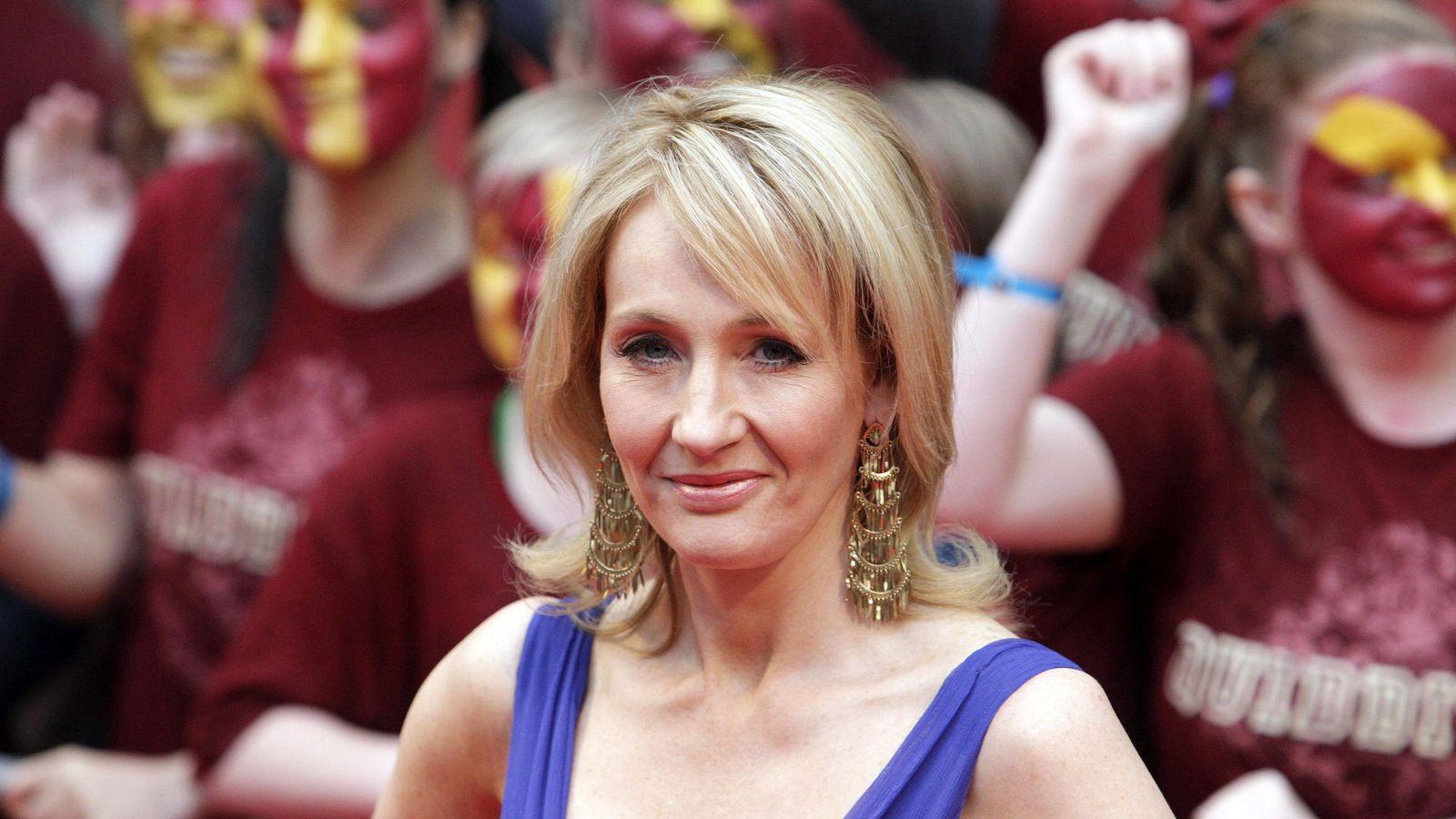 Foto: La escritora británica J K Rowling. (EFE)