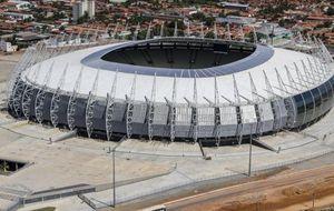 Brasil 'responde' a las críticas del Mundial con un estadio 'verde'
