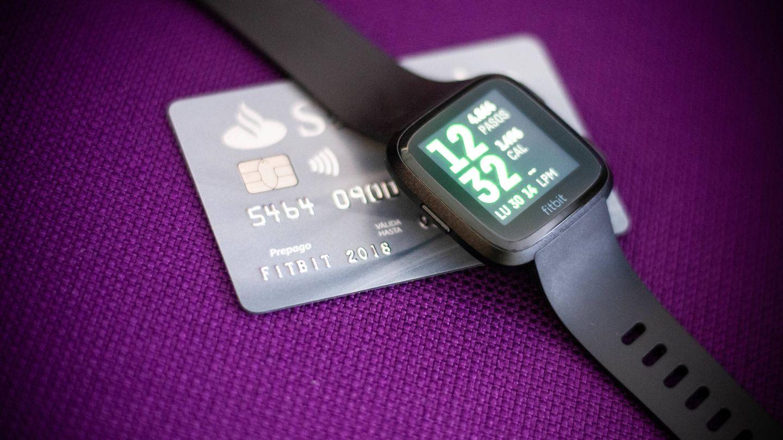 Fitbit Versa es compatible con Fitbit Pay. (C. Castellón)