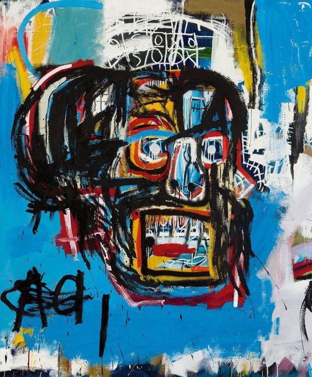 Foto: El cuadro 'Sin título' de Jean-Michel Basquiat vendido