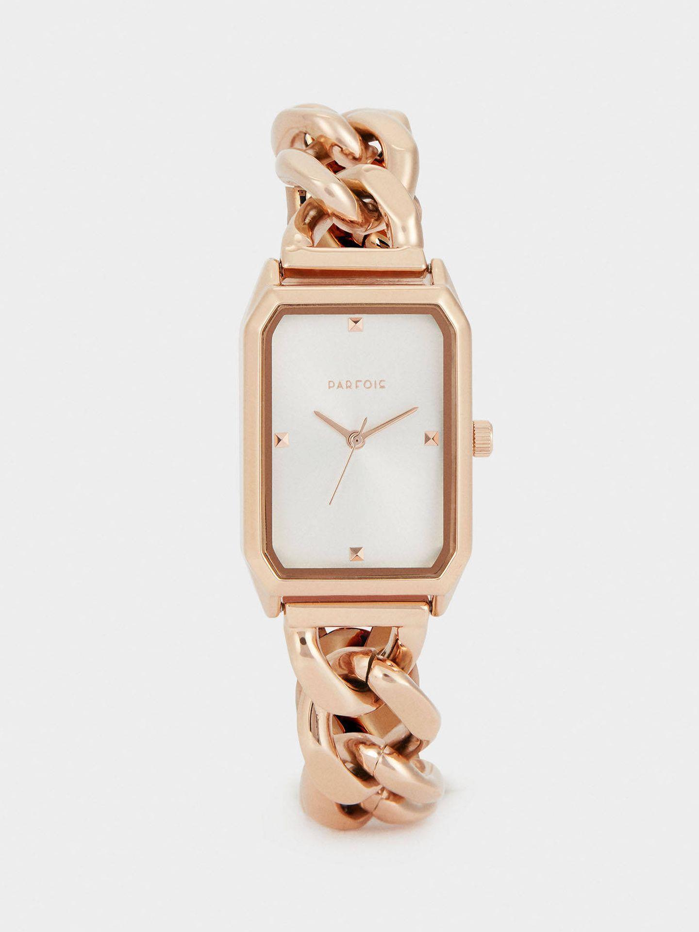 Reloj low cost de Parfois. (Cortesía)