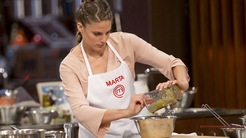Marta, primera clasificada para el duelo final de 'MasterChef'. (TVE)