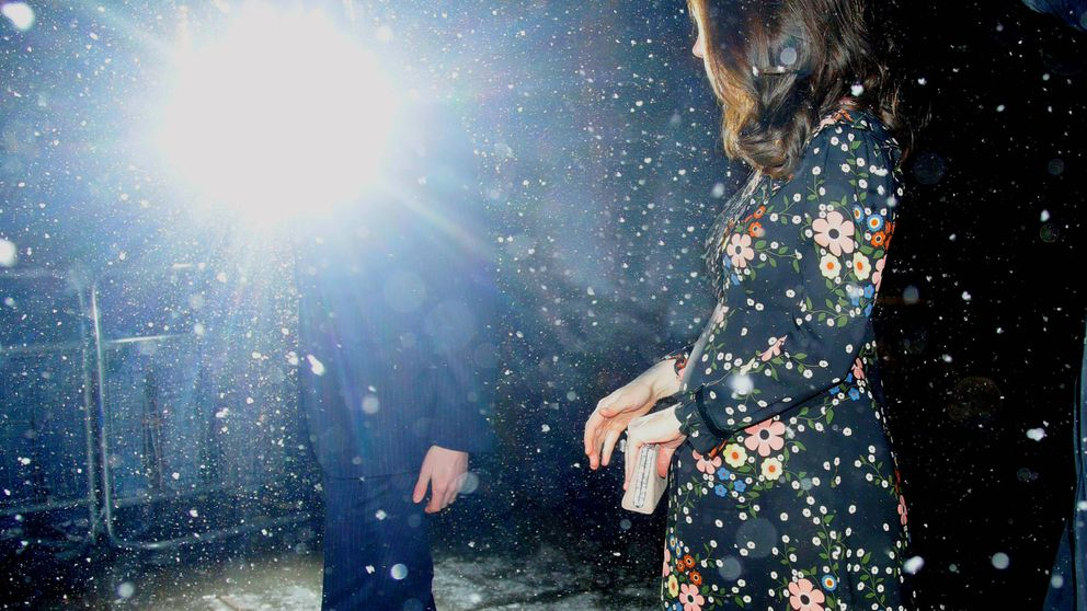 Kate Middleton, la reina de las nieves (sin abrigo) a un mes de dar a luz