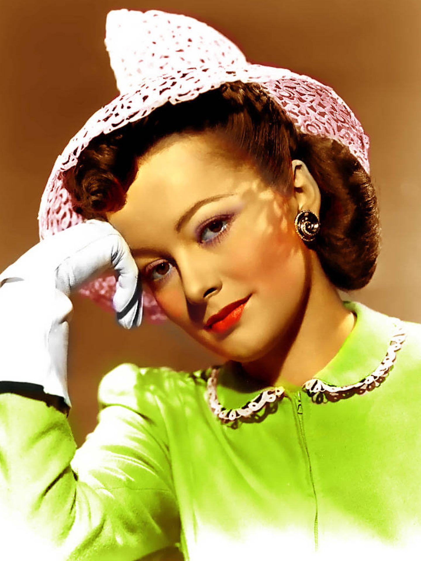 Olivia de Havilland, en una imagen de archivo.