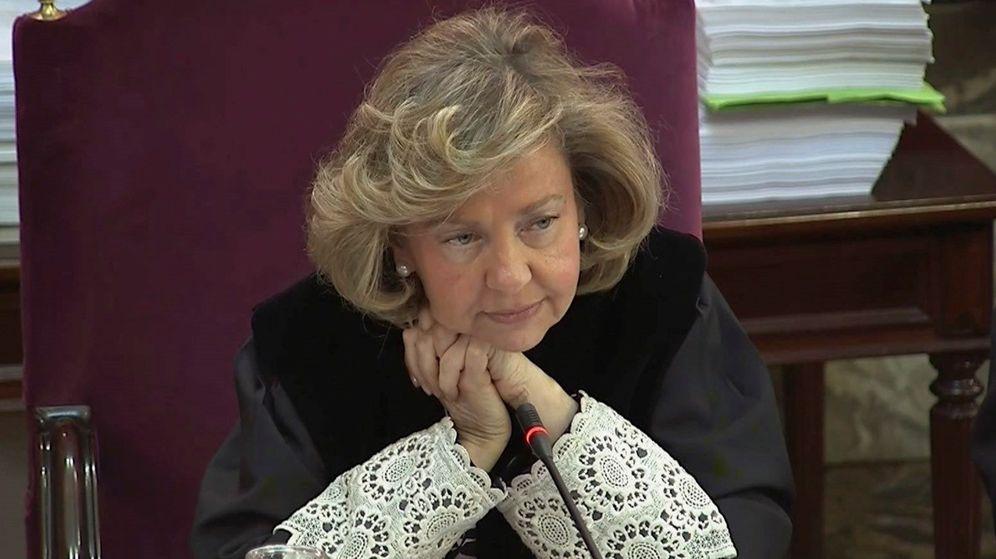 Foto: La fiscal del Supremo Consuelo Madrigal. (EFE)