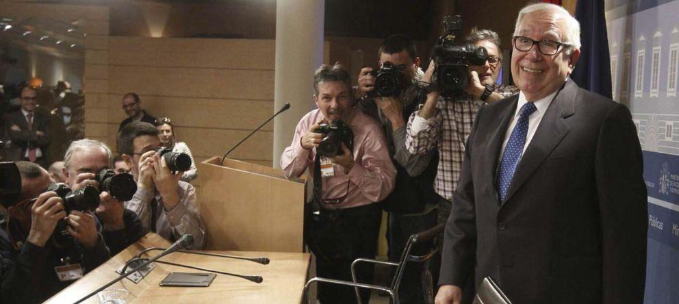 Foto: El presidente del comité de expertos para la reforma fiscal, Manuel Lagares. (EFE)