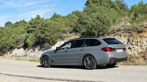 BMW 530e Touring, familiar de referencia