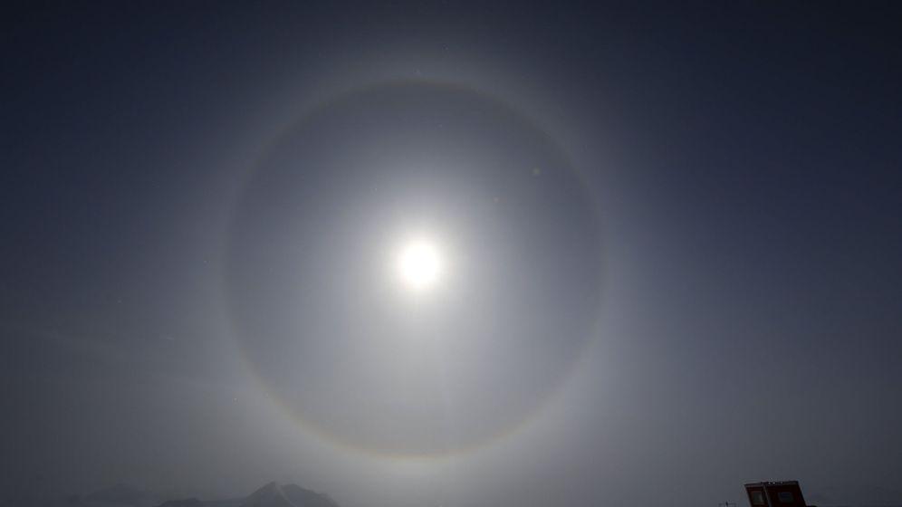 Foto: Agujero en la capa de ozono en la Antártida. Foto: efe/felipe trueba