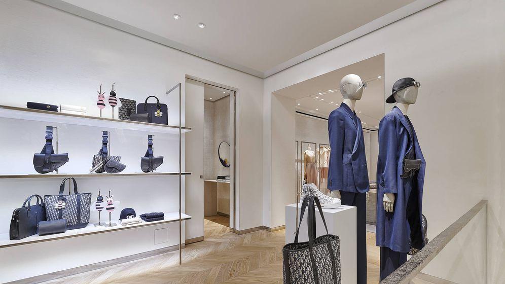 Foto: La nueva tienda masculina de Dior en Madrid.