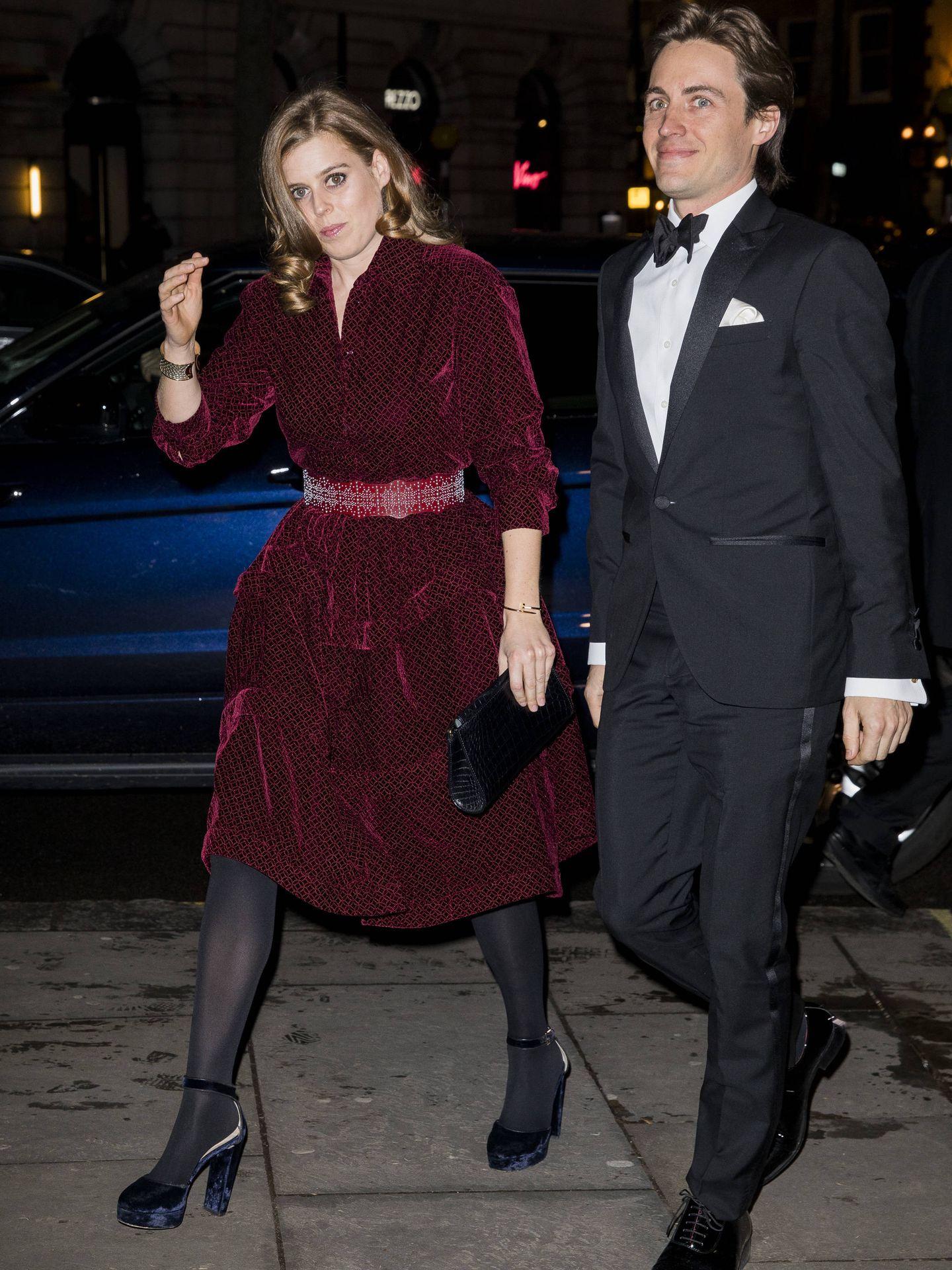 La princesa Beatriz y Edoardo Mapelli Mozzi. (Getty)