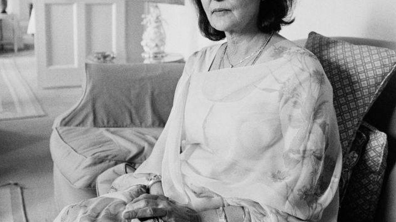 Gayatri Devi, en 1984. (Getty)