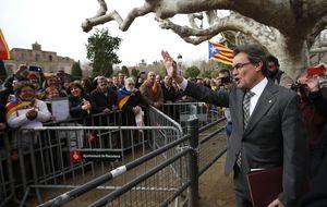 Mas afirma que el PP acepta de facto la consulta catalana al hacer campaña por el 'No'