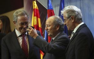 El Barcelona expresa su tristeza por el expresidente Núñez