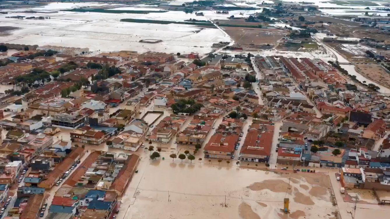 Foto: Murcia pide al Gobierno ser declarada zona catastrófica tras las lluvias. (EFE)