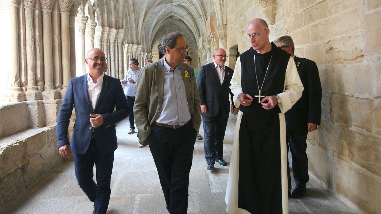 El catalanismo moderado afina en Poblet un pacto de conveniencia con España