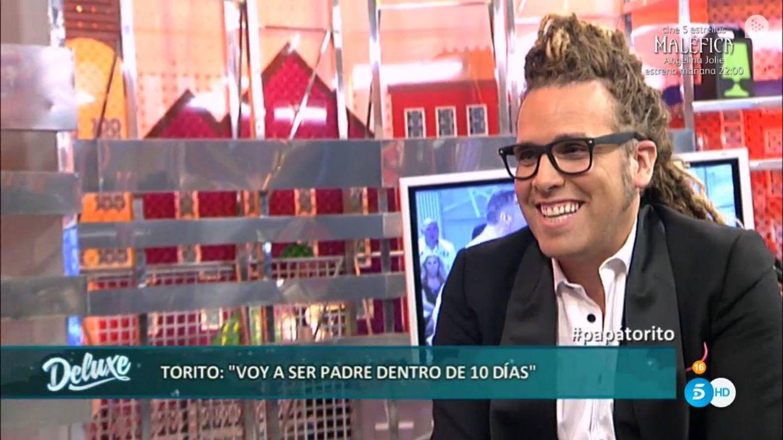 Torito, sobre su paternidad: He venido a trabajar a Telecinco en metro para ahorrar