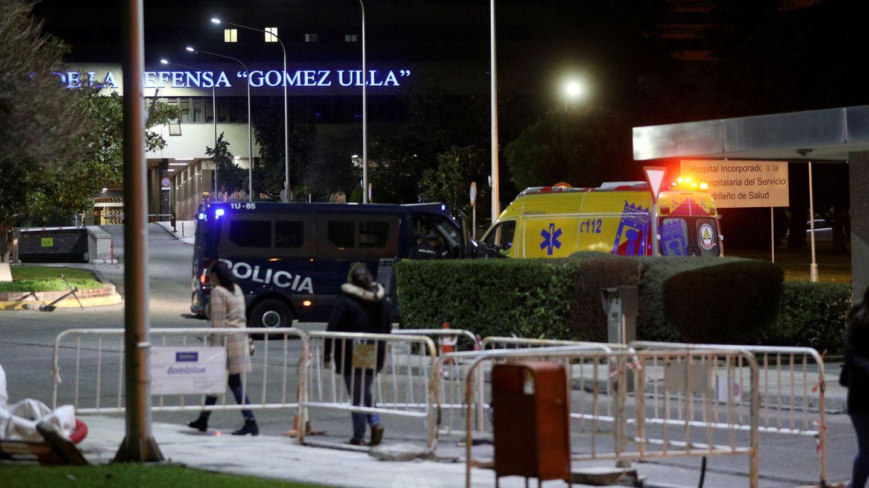 Vista de los alrededores del Hospital Militar Gómez Ulla de Madrid. (EFE)