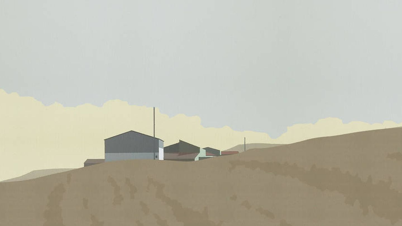'Surcos', de Chema Peralta, en la galería Utopía Parkway. (Cortesía)