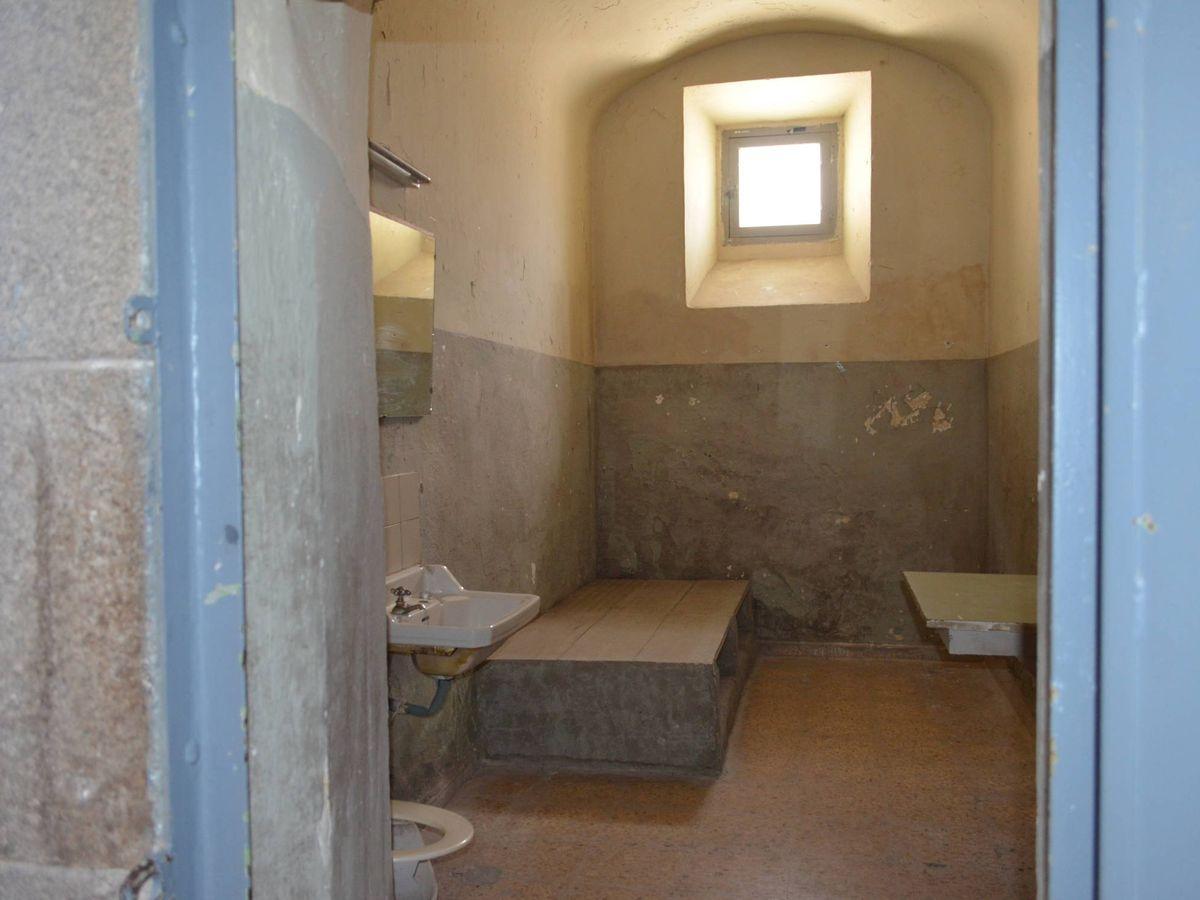 Foto: Imagen de una de las celdas de la antigua cárcel de Segovia. (Cedida)