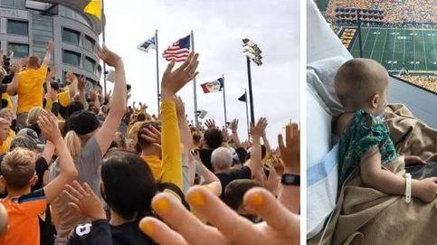 La emotiva tradición de un estadio de fútbol americano con un hospital infantil