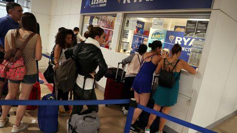 La huelga de Ryanair, en imágenes: largas colas y muchas reclamaciones de pasajeros