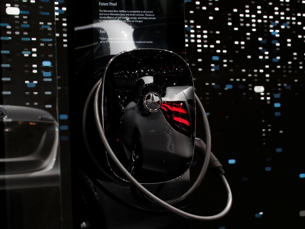Foto: Cargador eléctrico de Wallbox para Mercedes-Benz. (EFE)