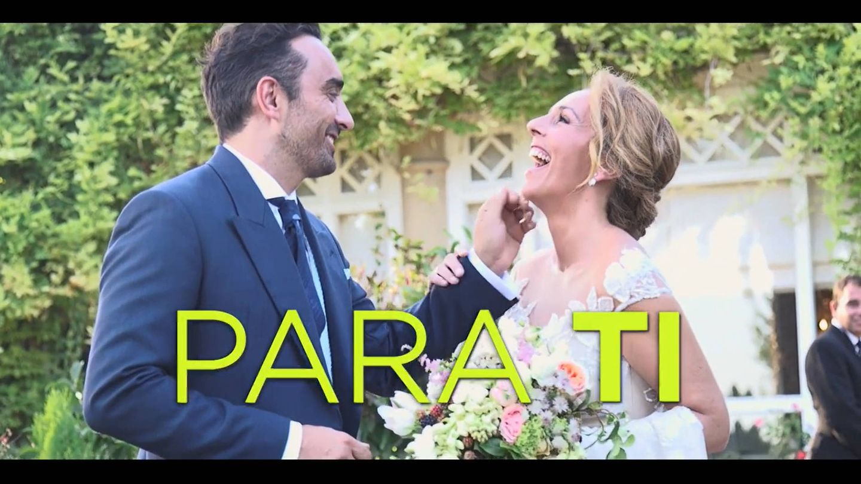 Imágenes de la boda entre Fidel y Rocío Carrasco. (Mediaset)