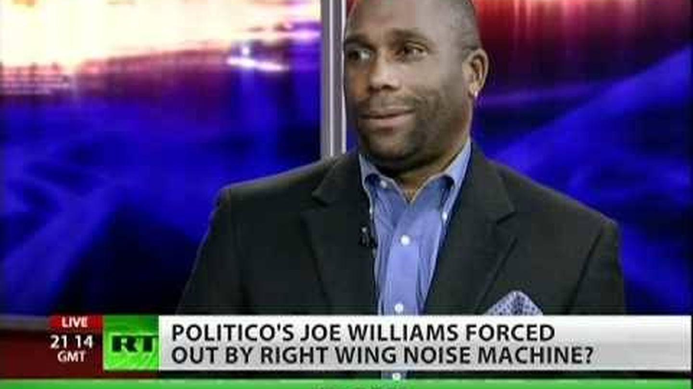 El periodista Joe Williams. (RT)