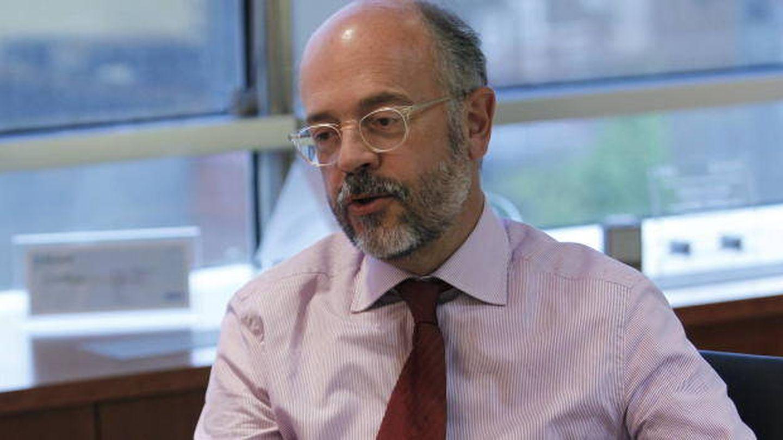 El consejero delegado de la farmacéutica catalana Almirall, Eduardo Sánchez. (EFE)