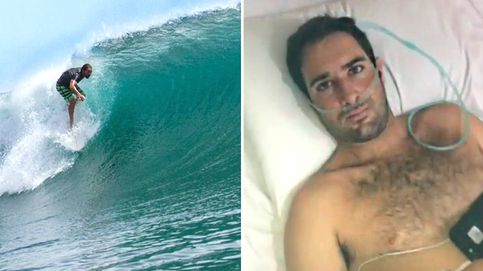 Cristian, el surfero atrapado en Bali que necesita volver a España en 24 horas