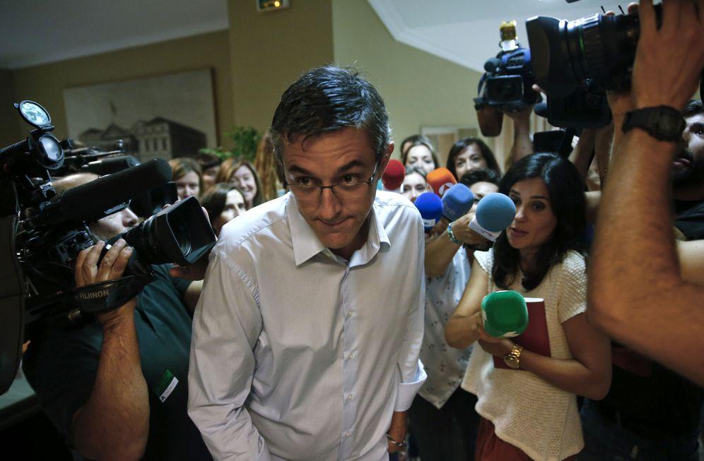 Foto: El diputado socialista por Madrid Eduardo Madina, el pasado 29 de agosto en el Congreso. (EFE)