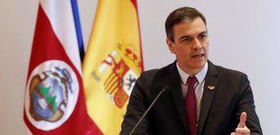 Post de Sánchez condena la violencia vicaria