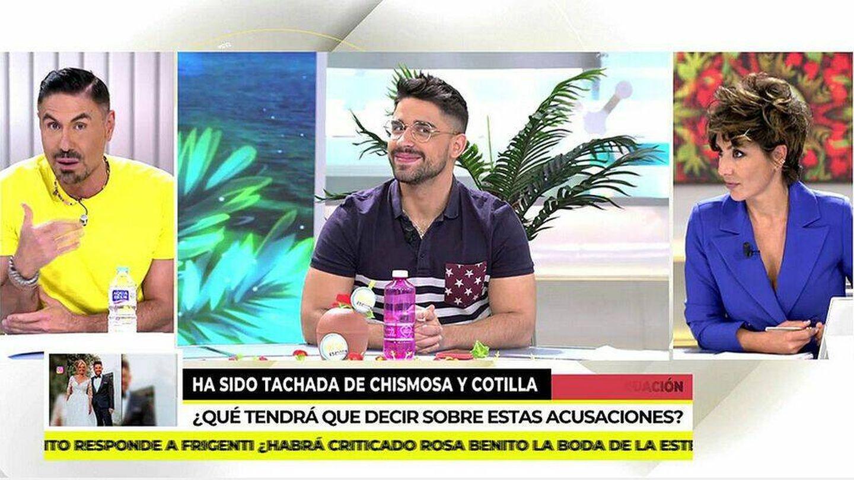 Miguel Ángel Nicolás, en 'Ya es mediodía'. (Telecinco)