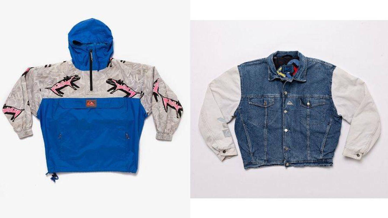 Las propuestas para el frío, un anorak y una chaqueta denim. (Cortesía)
